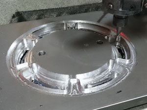 CNC milling hex clamp system