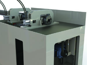 Automated high precision saw for aluminium extrusion